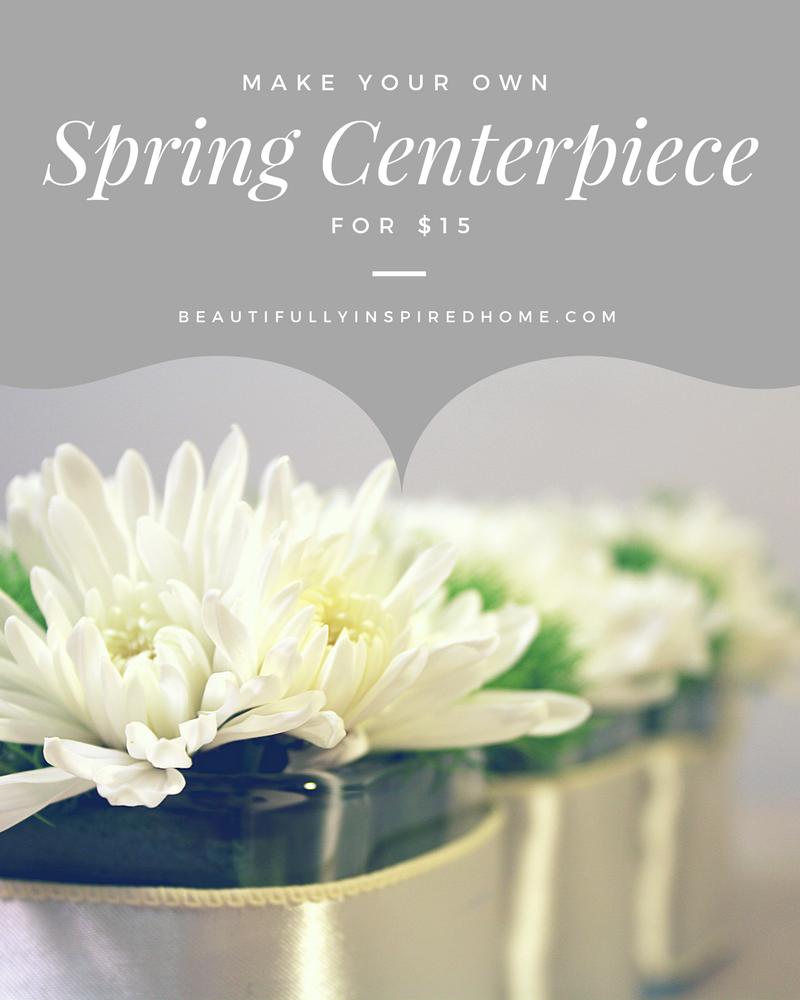 $15 Spring Centerpiece Trio